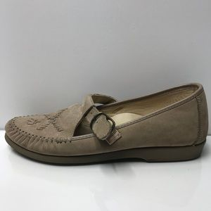 SOFTSPOTS All Day Comfort Leather Taupe Women's